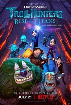 دانلود انیمیشن غول کش ها ظهور تایتان ها Trollhunters 2021
